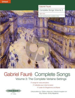 Faure Complete Songs Vol.3 High