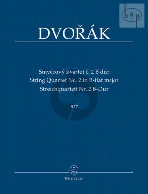 Quartet No.2 B-flat major B.17 (2 Vi.-Va.-Vc.) (Study Score)