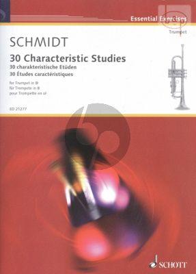 30 Characteristic Studies Trumpet (Bb)