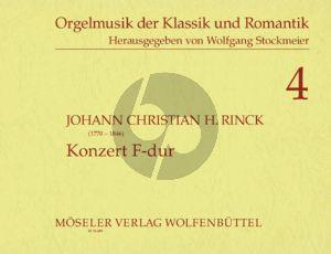 Konzert F-dur Op.55 Orgel