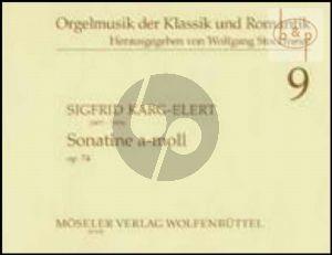 Sonatine a-moll Op.74