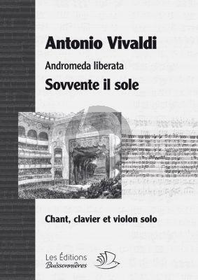 Vivaldi Sovvente il Sole Andromeda Liberata (Mezzo Sopran et Piano avec Violon Solo en Mi Mineur)