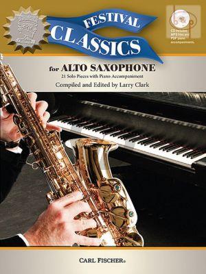Festival Classics for Alto Sax. (21 Solo Pieces)