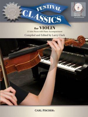 Festival Classics for Violin (13 Solo Pieces)
