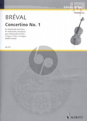 Concertino No.1 F-major Violoncello-Piano