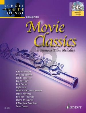 Movie Classics (14 Famous Film Melodies) (Flute-Piano) (Bk-Cd)