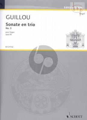 Sonate en Trio No.3 Op.83