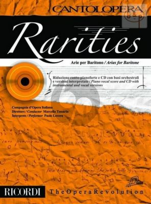 Rarities - Arias for Baritone (Voice-Piano)