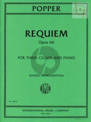 Requiem Op.66 (3 Violoncellos-piano)