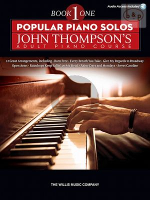 Popular Piano Solos Vol.1 (John Thompson Adult Piano Course) (Book with Audio access online)