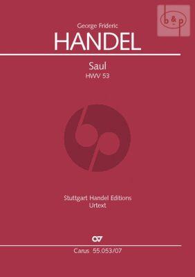 Saul HWV 53 (Soli-Choir-Orch.) (Study Score)