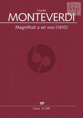 Magnificat a sei voci (1610) (SSATTB-Bc)