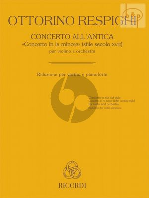 Concerto all'Antica (Concerto a-minor)