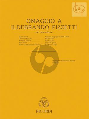 Omaggio a Ildebrando Pizzetti for Piano