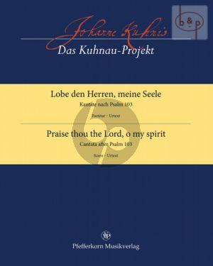Lobe den Herren, meine Seele (nach Psalm 103) (SSATB-Orch.) (Score)