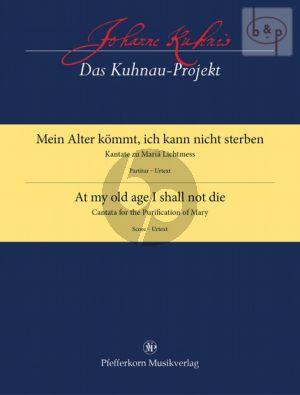 Mein Alter kommt, ich kann nicht Sterben (SSATB- 2 Vi.- 2 Va.-Bsn.-Bc) (Score)