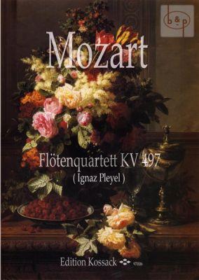 Quartet KV 497 (Flute-Vi.-Va.-Vc.) (Score/Parts)