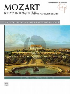 Sonata D-major KV 448 (2 Piano's 4 Hds)