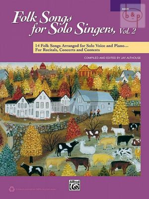 Folksongs for Solo Singers Vol.2 (High Voice)
