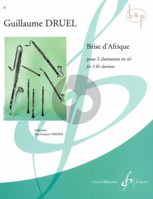 Brise d'Afrique (2 Clarinets in Bb)