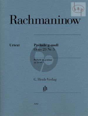 Prelude g-moll Op.23 No.5 (edited by Dominik Rahmer)