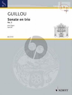 Sonate en trio No.2 Op.82