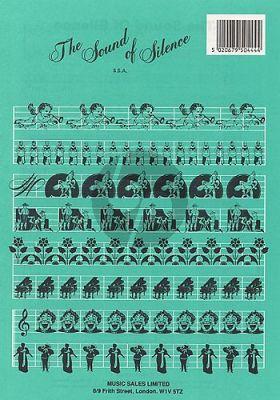 Simon The Sound of Silence SSA-Piano