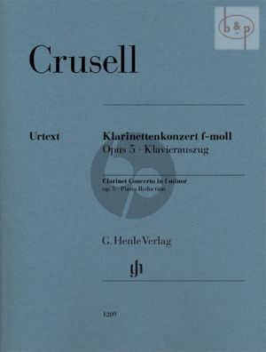Crusell Concerto f-minor No.2 Op.5 (Clarinet-Orch.) (piano red.)