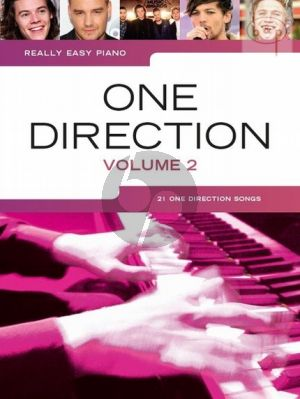 Really Easy Piano One Direction Vol.2