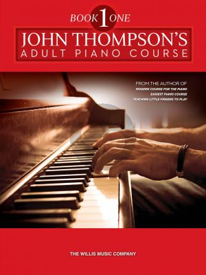 Thompson Adult Piano Course Vol.1 Book with Audio Online Download Card