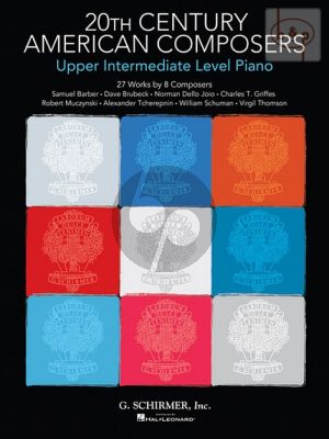 20th. Century American Composers for Piano