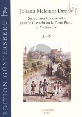 6 Sonates Concertants Vol.2 (No.3 - 4)