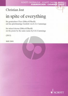 In spite of everything (on the Poem by the same name by E.E. Cummings)