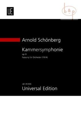 Kammersymphonie Op.9 (Fassung fur Orchester)