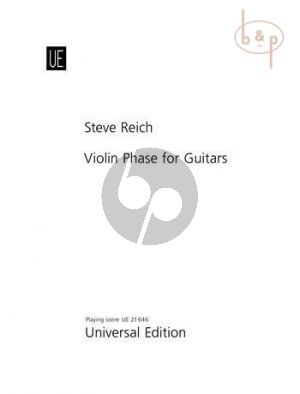Violin Phase for Guitars (Guitar and pre-recorded tape for 4 Guitars)