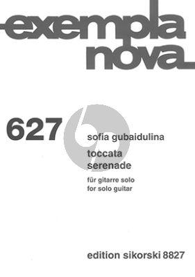 Gubaidulina Toccata / Serenade für Gitarre solo
