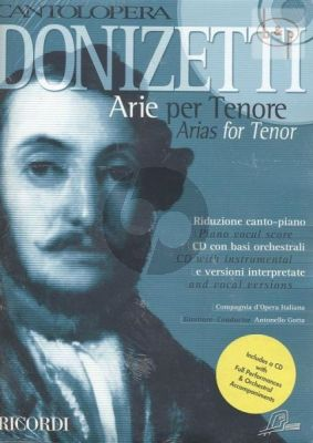 Arias for Tenor (Voice-Piano)