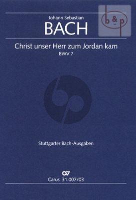 Kantate BWV 7 Christ unser Herr zum Jordan kam (Vocal Score)