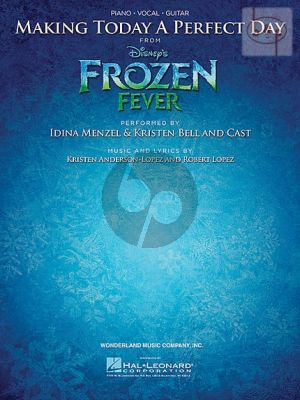 Making today a Perfect Day (from Frozen Fever) (Piano-Vocal-Chords)
