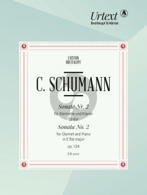Sonate No.2 Es-dur Op.134 (Clarinet-Piano)