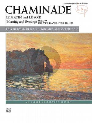 Le Matin et Le Soir Op.79 (2 Pianos 4 Hds)