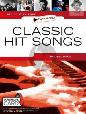 Really Easy Piano Playalong Classic Hit Songs