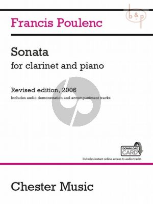 Sonata for Clarinet and Piano (revised 2006)