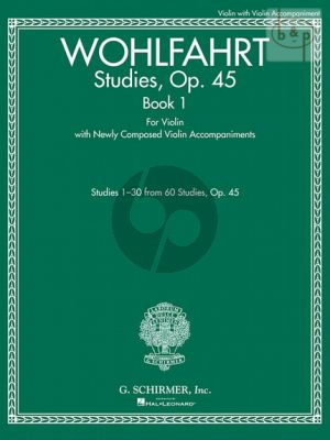 Studies Op.45 Vol.1 Violin  (No.1 - 30)