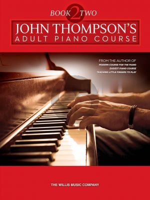 Thompson Adult Piano Course Vol.2 Book with Audio Online Download Card
