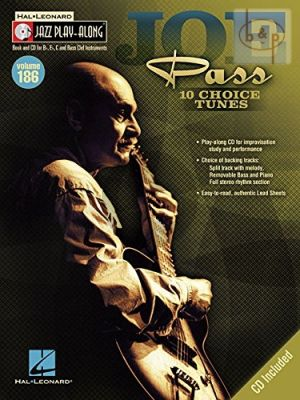 Pass 10 Choice Tunes (Jazz Play-Along Series Vol.186)