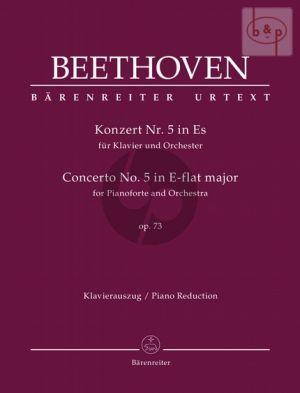 Concerto No.5 E-flat major Op.73 Piano and Orchestra (red. 2 Piano's)
