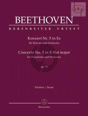 Concerto No.5 E-flat major Op.73 (Piano-Orch.) (Full Score)