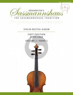 Violin Recital Album Vol.1 (Violin-Piano) (1st.Pos.)