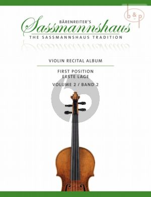 Violin Recital Album Vol.2 (Violin-Piano) (1st.Pos.)